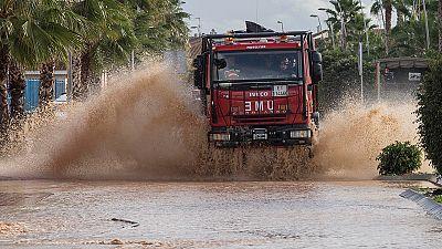 Casi toda Murcia estará el lunes en alerta amarilla por lluvias