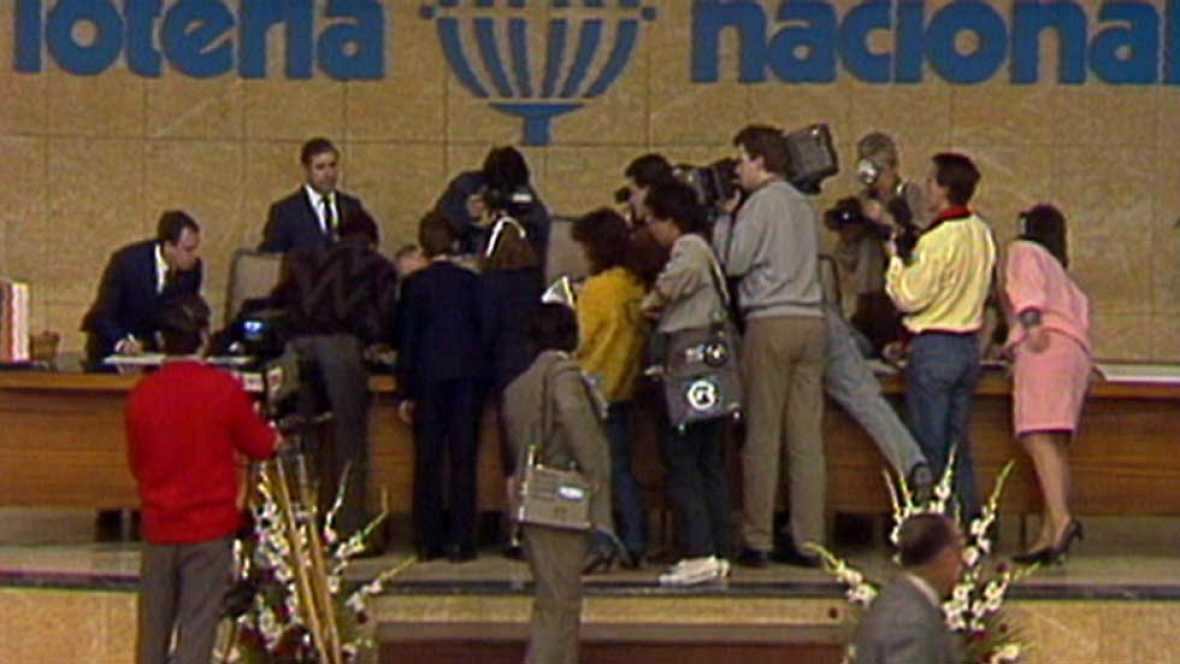 El de 1986 fue el sorteo de Lotería de Navidad más polémico