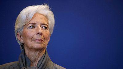 """La justicia francesa condena a Lagarde por """"negligencia"""" en el caso Tapie pero no le impone pena"""