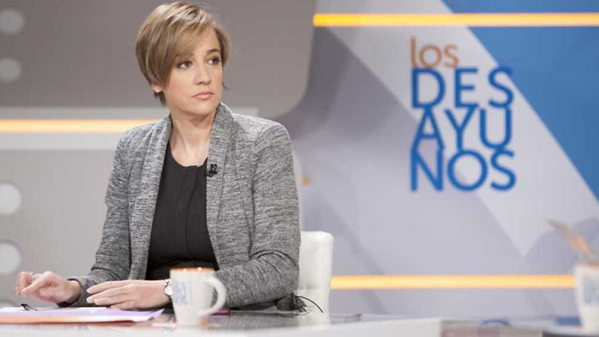 Los desayunos de TVE - Tania Sánchez, diputada de Unidos Podemos - ver ahora