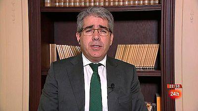 """Homs, """"satisfecho"""" con la iniciativa del Congreso para evitar que el Constitucional pueda suspender a cargos públicos"""