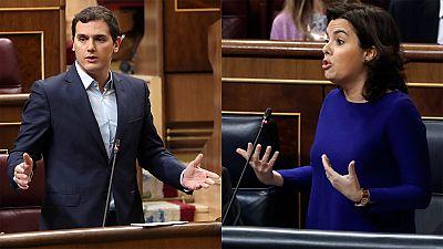 Rivera defiende suprimir los aforamientos políticos recogidos en la Constitución y el Gobierno matiza su alcance