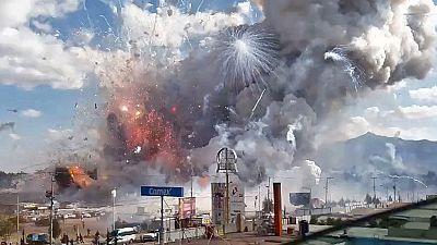 Una explosión en un mercado pirotécnico de México causa al menos 31 muertos y decenas de heridos