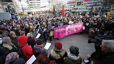 Berlín canta por la reconciliación tras el atentado en el mercadillo navideño