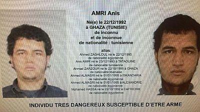 Atentado en Berlín - La Policía alemana registra dos viviendas en busca del Anis Amri