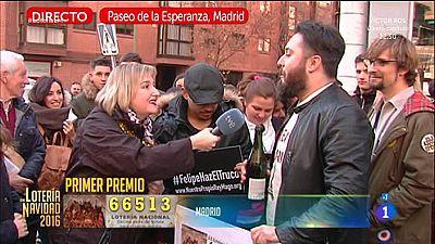 La suerte cae en Madrid