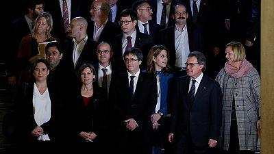 Se constituye en el Parlament de Cataluña el Pacto Nacional por el Referéndum