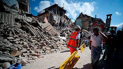 Se cumplen cuatro meses del terremoto que sacudió Italia