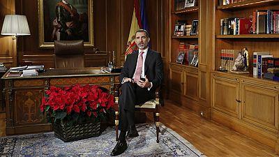 Las reacciones al discurso navideño del rey se centran en Cataluña