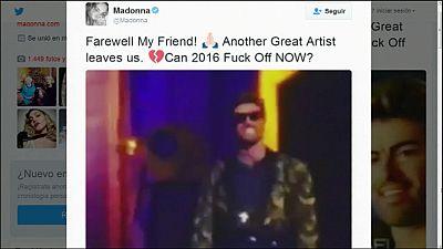 Grandes artístas como Madonna, despiden a Geroge Michael en las redes