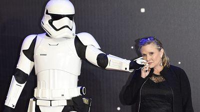 Muere Carrie Fisher, la princesa Leia de 'Star Wars', a los 60 años