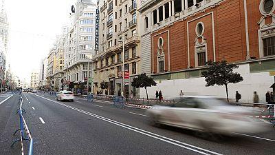 Los coches con matrícula par no podrán circular este jueves por Madrid