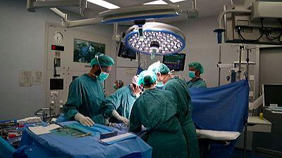 Un equipo del Hospital Vall d'Hebron realiza 10 trasplantes en un día