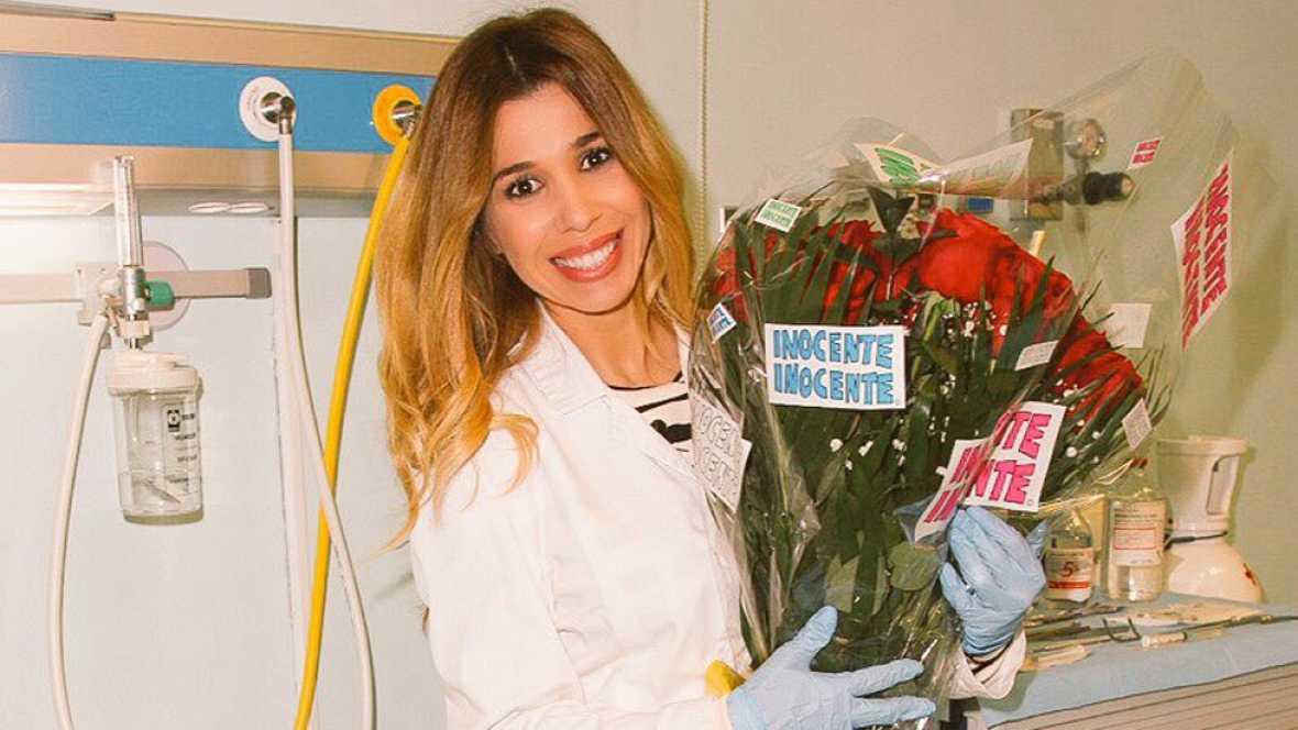 Natalia pasa miedo en 'Centro Médico'