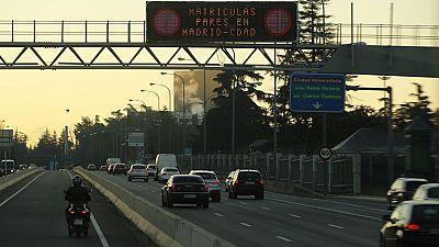 Madrid volverá a permitir este viernes la circulación de todos los coches por la almendra central