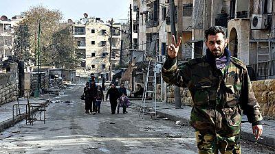 Acuerdo de alto el fuego entre el Gobierno de Siria y los rebeldes