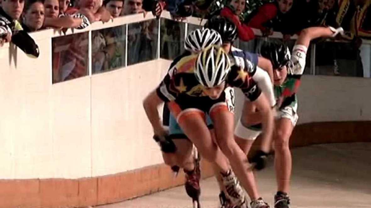 Mujer y deporte - Patinando con ellas - ver ahora