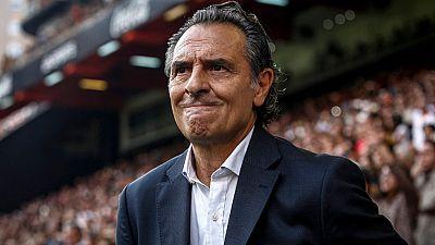 Prandelli dimite y el Valencia expresa su sorpresa por la decisión