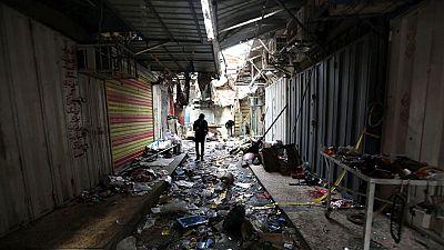 Dos terroristas suicidas se han hecho explotar en un mercado de Bagdad
