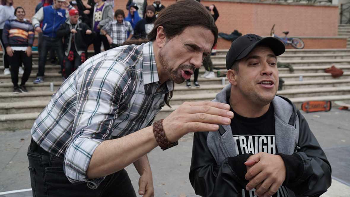El rap de Pablo Iglesias y el Langui