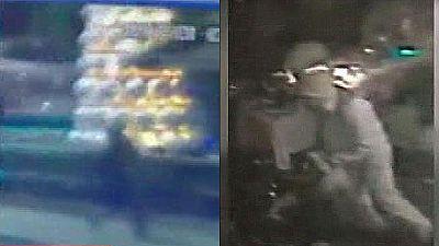 Las cámaras de seguridad captan al terrorista de Estambul, que huyó tras asaltar el club Reina