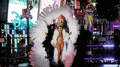 El playback le jugó una mala pasada a Mariah Carey durante la fiesta de año nuevo en pleno Times Square de Nueva York