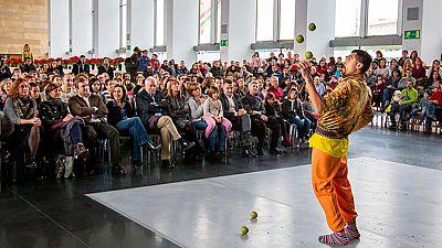 El Festival Actual en Logroño escenario de culturas contemporáneas