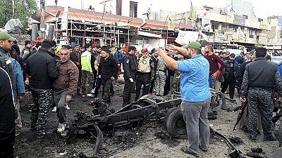 Una ola de atentados golpea Irak durante la visita de Hollande