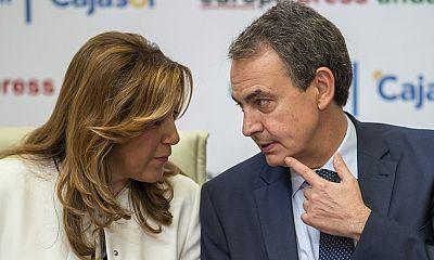 Nuevo encuentro de Susana Díaz con el expresidente Zapatero en Madrid