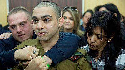 Israel culpa de homicidio a un soldado que mató a un palestino herido en el suelo