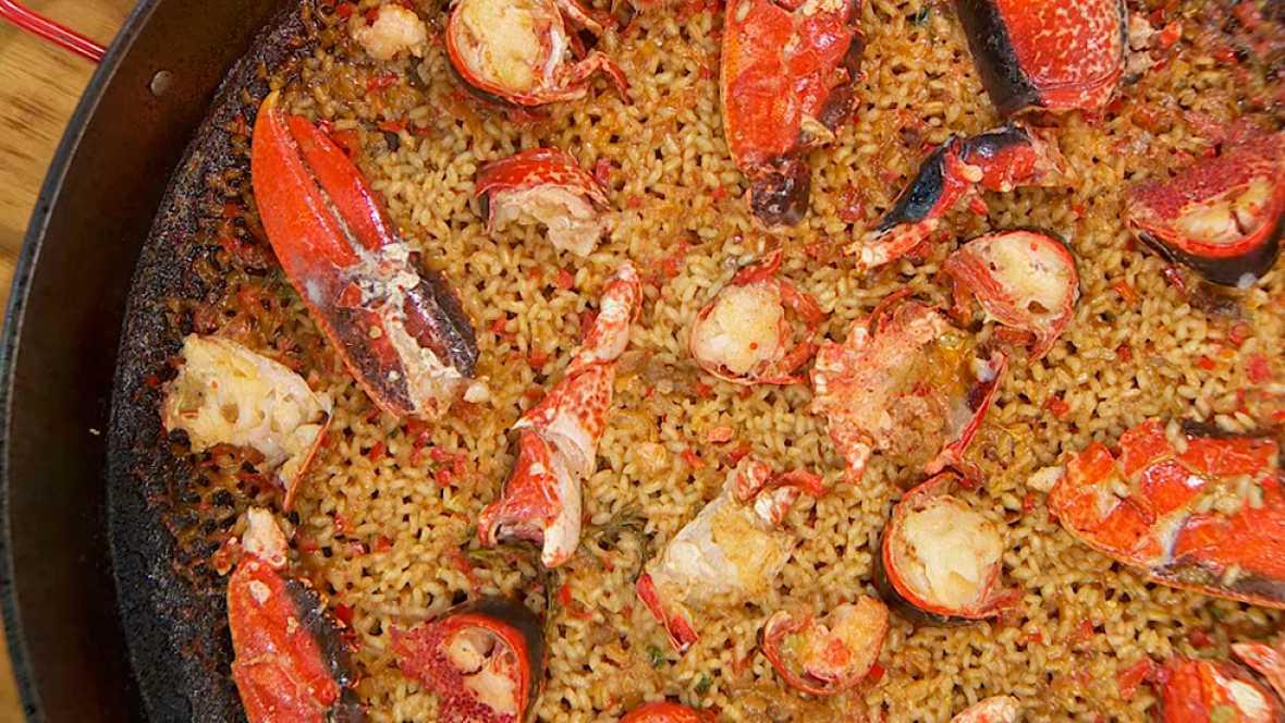 Torres en la cocina - Receta de paella de bogavante