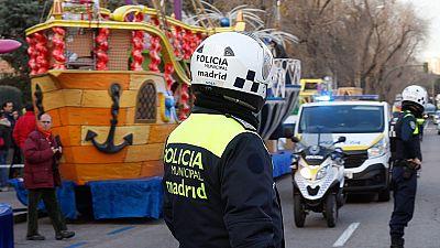 Madrid y Barcelona incrementan la seguridad para las cabalgatas de Reyes