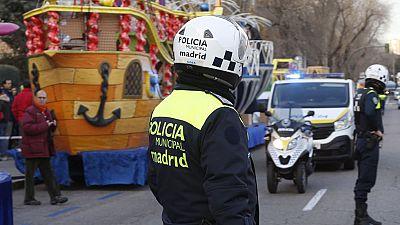 Las ciudades extreman la seguridad para proteger los recorridos de las cabalgatas de Reyes