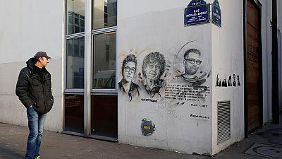 París recuerda a Charlie Hebdo y los atentados de enero de 2015 en su segundo aniversario