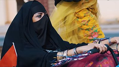 Mujeres saudíes liberadas, con niqab y a lo loco