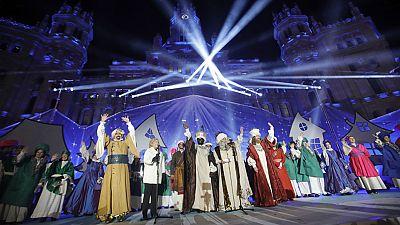 La cabalgata de Reyes en Madrid gira alrededor de la curiosidad y el afán de conocimiento