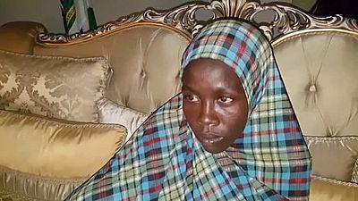 Rakiya acaba de salir del infierno tras pasar casi tres años secuestrada por los terroristas de Boko Haram