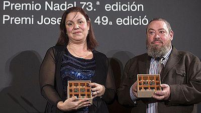 Care Santos gana el premio Nadal con su novela 'Media Vida'