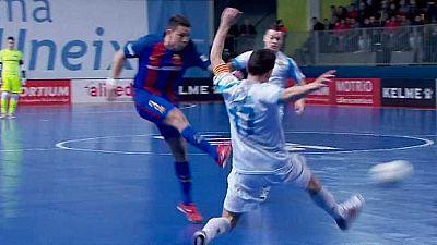 Fútbol Sala - Liga Nacional 14ª jornada: Catgas Energia- FC Barcelona Lassa - ver ahora