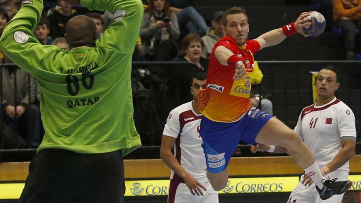 Balonmano - Torneo Internacional de España 'Memorial Domingo Bárcenas' - España - Qatar - ver ahora