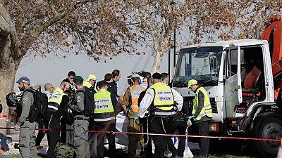 Cuatro muertos en un ataque con camión a un grupo de soldados en Jerusalén
