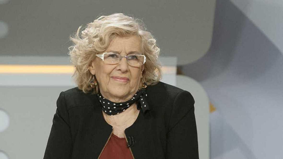 Los desayunos de TVE - Manuela Carmena, alcaldesa de Madrid - ver ahora