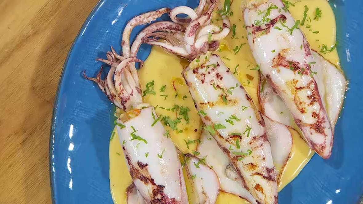 Torres en la cocina - Calamares rellenos
