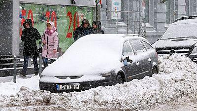 La intensa  ola de frío que recorre gran parte de Europa  ha causado en los últimos días más de 30 muertos