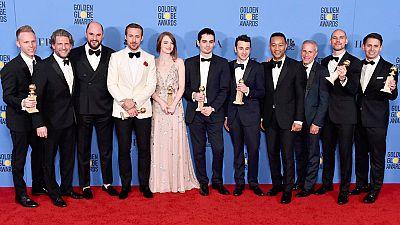 'La La Land' hace historia en los Globos de Oro con siete galardones