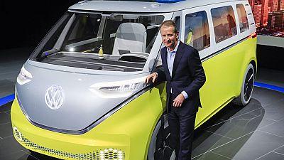 Volkswagen presenta en Detroit un modelo eléctrico de su mítica 'Combi'