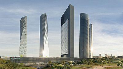 Caleido, la quinta torre de la Castellana, abrirá en 2019