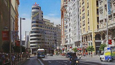 El Ayuntamiento de Madrid planea que la Gran Vía termine siendo una calle sin aceras