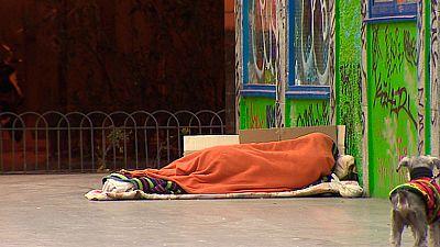 La Comunidad de Madrid elabora un censo de personas sin hogar
