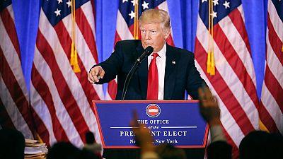 Trump ofrece su primera rueda de prensa desde que ganó las elecciones de EE.UU.